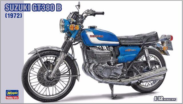 Suzuki GT380 B 1972   1/12  ( Hasegawa )