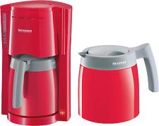 Artikelbild Severin KA 9746 Rot-Grau Filter Kaffeemaschine 2 Thermoskannen / Isokannen
