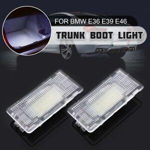 2x-LED-Eclairage-Coffre-Bagage-pour-BMW-E36-E38-E39-E46-E60-E82-E88-E90-E91-E92