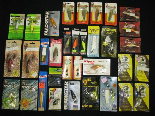 Lot of 34 Lures  Vintage New in the Box, Never Used Master Series Variant Finland  fashion