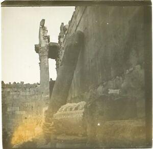 Libano Baalbek Archeologia Foto Stereo Placca Da Lente VR2L8n11