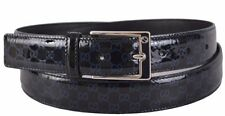Gucci black patent leather belt new Authentic RRP £450