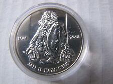 10zł Jan Kazimierz 2000 rok 14,14 Ag 0,925 półpostać