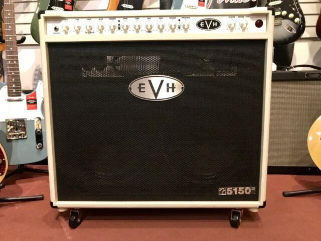 473e3eb7dc9 EVH 5150 III 2x12 50 Watt All Tube Combo Amplifier Ivory for sale ...