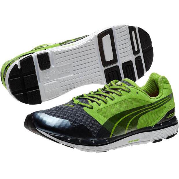 Puma faas 500 v2 zapatos zapatillas zapatillas aerobic verde-negro nuevo