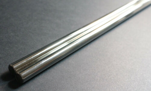"2 x 8mm Shaft 17-3//4/"" Hardened Rod Rail Linear Motion 3D Printer XYZ for lm8uu"