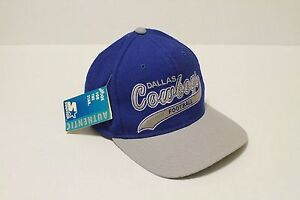 f1f26c1f Details about Throwback Dallas Cowboys 90's Starter Tags Wool Pro Line  Snapback HAT Script Dak