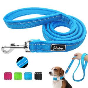 Reflective-Dog-Lead-Plush-Padded-Dog-Walking-Lead-for-Small-Medium-Large-Dogs