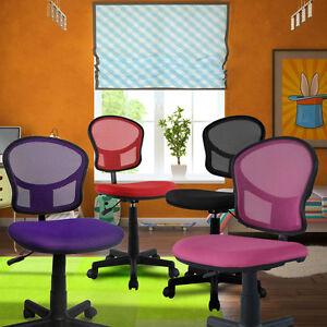 Schreibtischstuhl kinder lila  Design Schreibtischstuhl Büro Drehstuhl Kinder Stuhl Drehstuhl ...