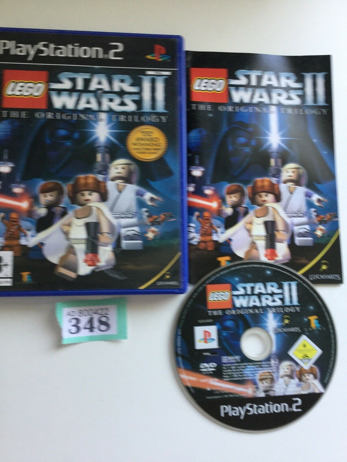playstation 2 ps2 Lego Starwars 2 The - pas cher StarWars