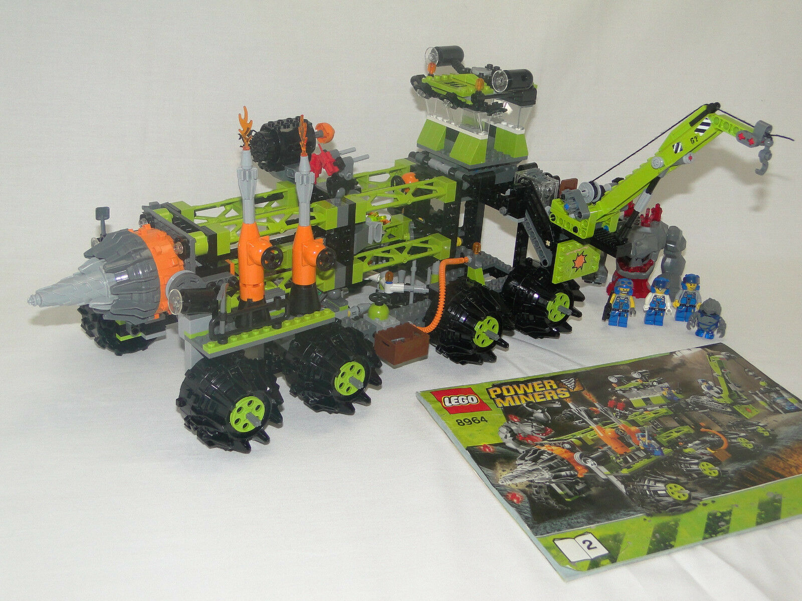 LEGO energia  MINERS 8964 mobile stazione di foratura con istruzioni 2 2 OBA  Prezzo al piano
