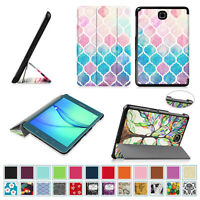 Samsung Galaxy Tablet Pattern Slim Shell Lightweight Case Stand Cover