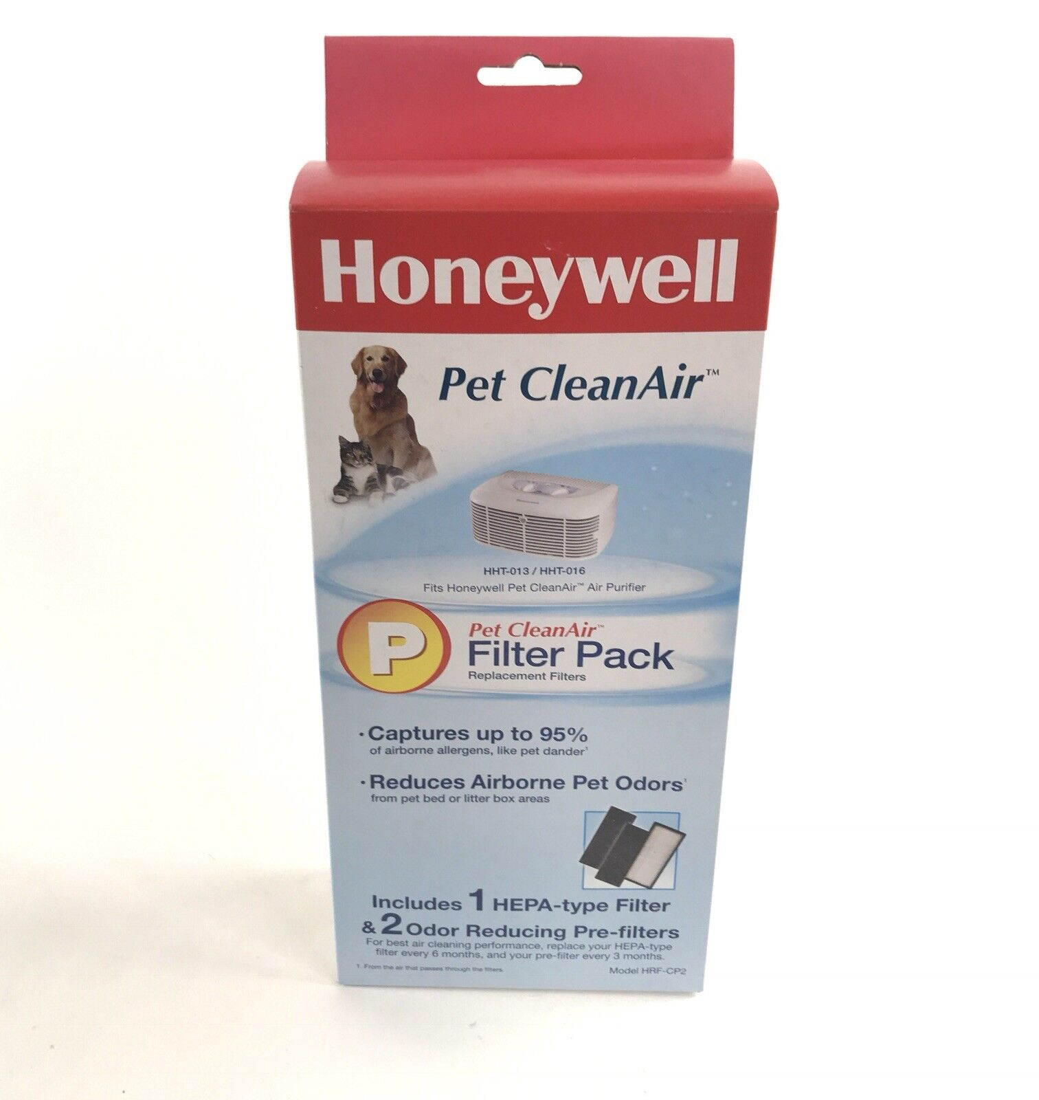 Pet CleanAir Replacement Filter Combo Pack Honeywell HRF-CP2