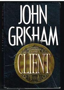 The-Client-by-John-Grisham-1993-1st-Edition-Nice-Book-In-Good-Condition