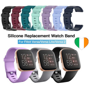 Band-Strap-Buckle-For-Fitbit-Versa-Versa-2-Versa-Lite-Replacement-Silicone