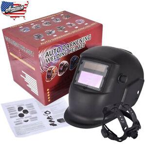 Solar-Powered-Auto-Darkening-Tool-Grinding-Welder-Welding-Helmet-Face-Mask-NEW