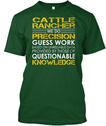 Cattle Rancher Precision Hanes Tagless Tee T-Shirt