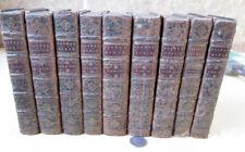 9Vols,SAINTE BIBLE CONTENANT L ANCIEN et Le NOUVEAU TESTAMENT,1711,De Saci,1stEd