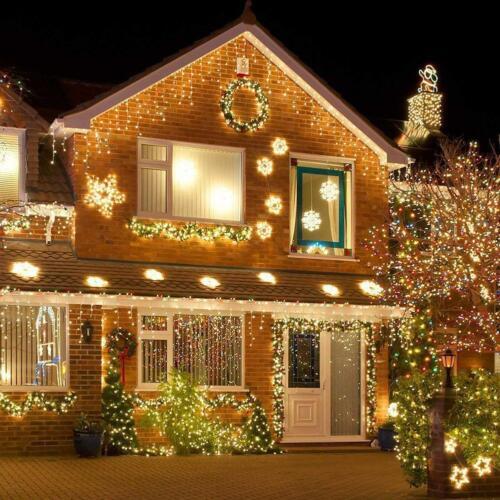 Indoor In Decor M4T6 Solar Fairy Lichterketten 50 LED Clear Cable für Xmax