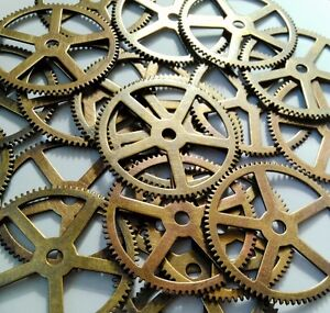 Steampunk-Vintage-Watch-Movement-Clock-Parts-Gears-Cogs-Wheels-Large-Size-62mm
