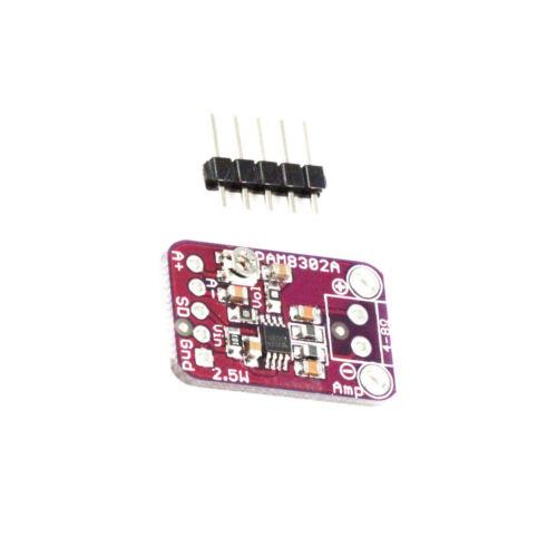 2PCS NEW PAM8302 2.5W Class D Single Channel Audio Amplifier Board Amp Module