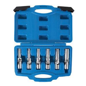 "11Pcs 3//8/"" Spark Glow Plug Socket Petrol Diesel Removal Install Repair Tool with Carrying Case Spark Plug Socket Set"