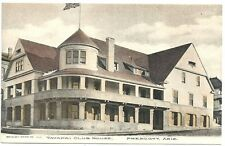 Photo Postcard ~ Yavapai Club House  Prescott AZ c1905  by Brisley Drug Store