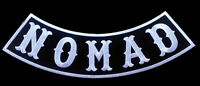 Nomad Sons Outlaw Rocker Jacket Vest 10 Inch Anarchy Mc Biker Patch