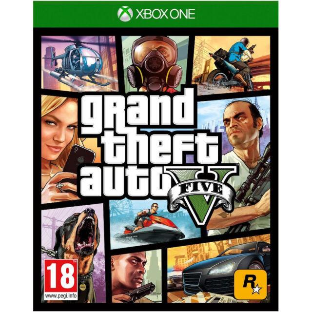 Grand Theft Auto V Video Game pour Xbox One Console Neuf Scellé