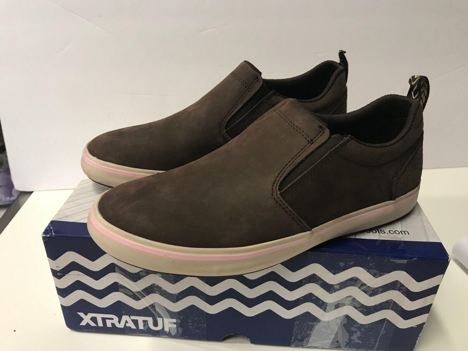 XTRATUF sharkbyte Para Para Para Mujer Zapatos de Cubierta de cuero nobuck 9 de EE. UU. 22504  entrega de rayos