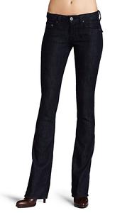 NWT-William-Rast-Women-039-s-Tatum-Bootcut-With-Flap-Denim-Jeans-Sz-27-28-29