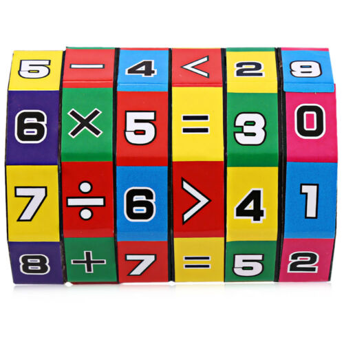 6-layer 7.2cm Height Puzzle Cube Kids Education Learning Math Toy Kids Children