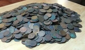 10-Indian-Head-Cent-Penny-Lot-Cull-Junk-Coins-MAKE-AN-OFFER-FREE-SHIPPING