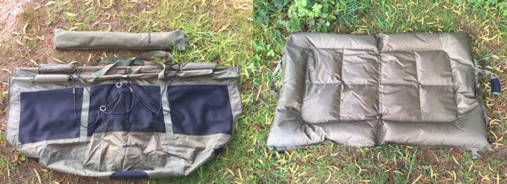 Carp Care Combo, Floating Weigh Retainer Sling & Unhooking Mat, SALE PRICE