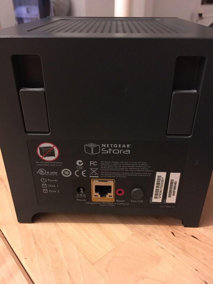 Netgear, ekstern, 500 GB