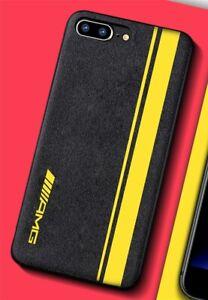 coque iphone 8 plus silicone jaune