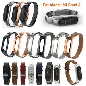 Per-Xiaomi-mi-Fascia-3-Acciaio-Inox-Lusso-Cinturino-da-Polso-Metallo-Bracciale