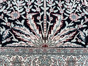 Auth:  Antique Silk Kayseri Rug   Anatolian Tree Of Life ART Beauty 3x5  NR