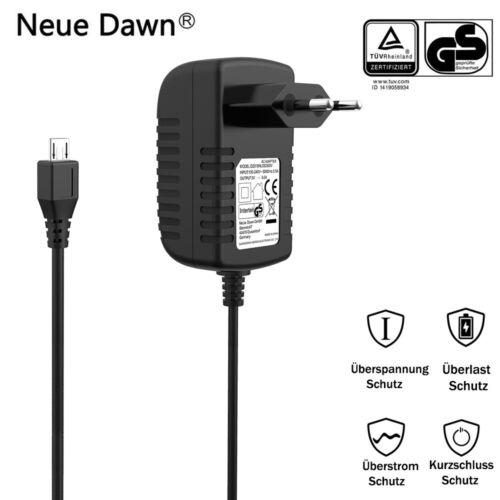 Philips BT 50//BT 110 Netzteil Ladegerät Kabel Micro USB 5V 3A Für JBL Flip2//3