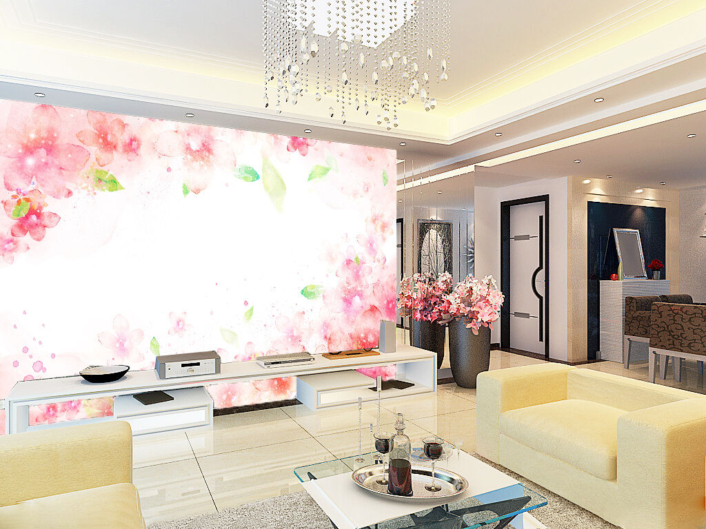 3D Pale pink pattern 8 Wall Paper Wall Print Decal Wall Deco Indoor wall Murals