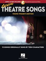 Teen Theatre Songs: Young Women's Edition Book Online Audio 12 Songs 000191942