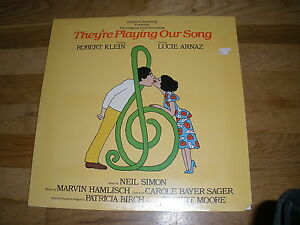 robert-klein-Lucie-Arnaz-THEYRE-PLAYIN-OUR-SONG-original-cast-LP-Record-Sealed