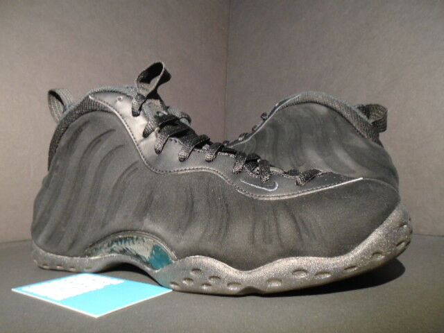NIKE AIR FOAMPOSITE ANTHRACITE ONE PREMIUM PRO TRIPLE BLACK SUEDE ANTHRACITE FOAMPOSITE 575420-006 9.5 bcdb7a