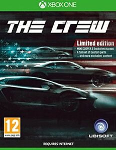 xbox one game the crew action racing game limited edition new 3307215748961 ebay. Black Bedroom Furniture Sets. Home Design Ideas
