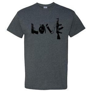 Love-Guns-on-a-Dark-Heather-T-Shirt