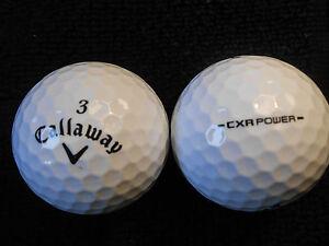 20-CALLAWAY-034-CXR-POWER-034-BLACK-TICK-Golf-Balls-034-PEARL-A-034-Grades