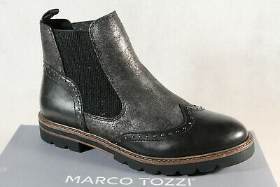 Marco tozzi Ankle Boots Ankle Boots Anthracite 25422 New | eBay