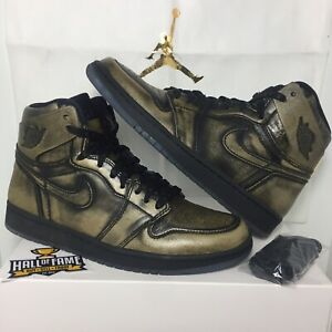 bronsmaat OgMetallic Heren 5 Retro High goud 8 Jordan Nike I Air 1 DH2IWE9eY