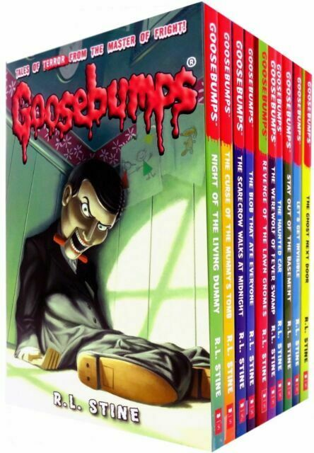 The Classic Goosebumps Series R L Stine 10 Books Collection Children Set 1 For Sale Online Ebay