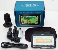 Magellan Roadmate 2036 T Car Lifetime-Traffic Set GPS 4.3 LCD OneTouch Portable